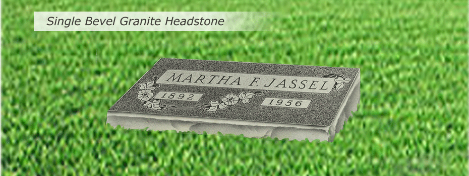 single-bevel-granite-headstone-slideshow