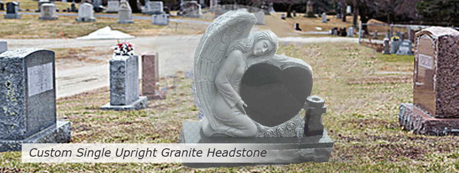 custom-single-upright-granite-headstone-slideshow